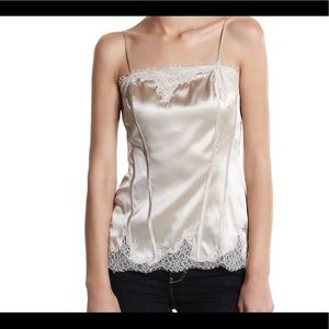 WHBM Silk Lace Camisole
